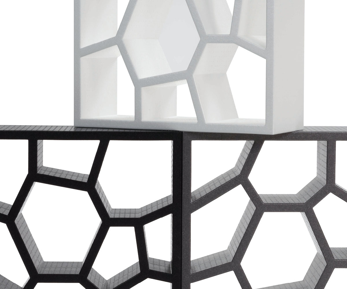 Bookcase and Display Unit Opus Incertum