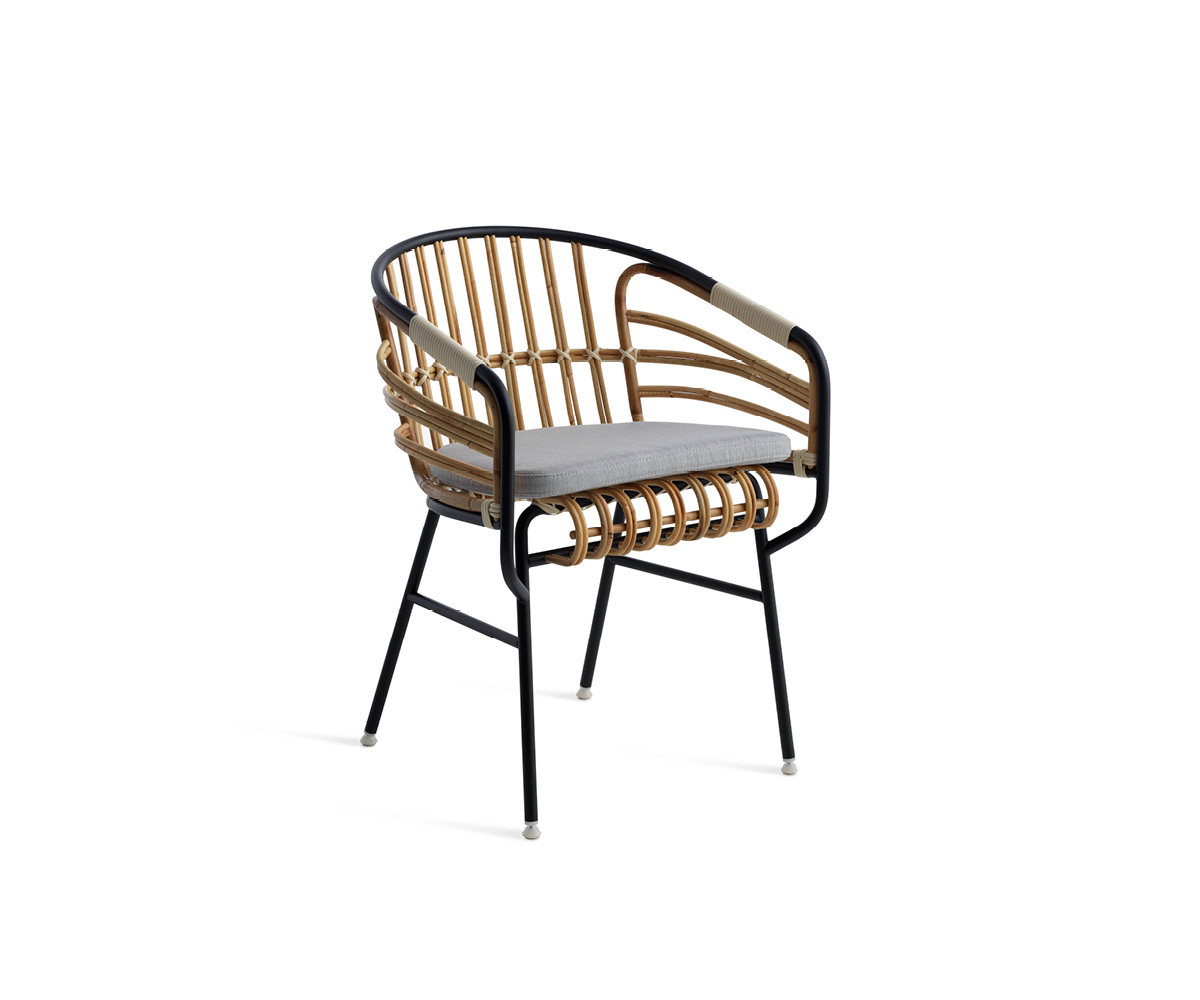 Chair Raphia Rattan